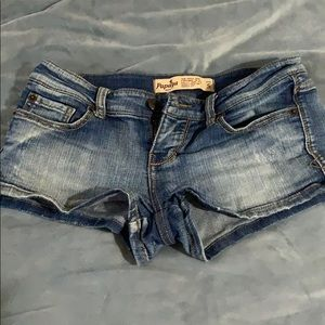 Casual denim's shorts